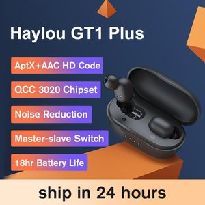Haylou GT1 Plus Aptx 3D Real Sound Sound Cuffie senza fili, Touch Counted DSP Noise Annullamento del rumore Auricolari Bluetooth QCC 3020 Chip
