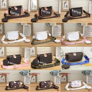 2020 Novo estilo moda moda mulheres luxo sacos senhora pu bolsas de couro marca sacos bolsa de bolsa ombro m saco de lona feminina # 34724