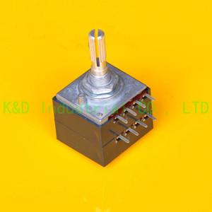 1pc Volume ALPS 27 type 250K potentiometer A Knurl shaft for Guitar DIY