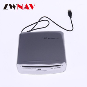 ZWNAV USB DVD DVD DRIVE ÓPTICO Slot de DVD externo CD ROM Player para automóvil DVD / VCD / CD / MP4 // Reproductor de MP3 Disco USB Port1