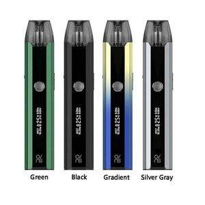 Auténtico OVNS SABER III KIT STARTER STARTER 700mAh Batería con 2,5 ml POD TANK OLED PANTALLA ORIGINAL SABER V3 Sistema portátil Vape