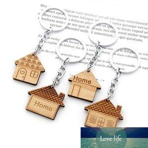 منزل مفتاح سلسلة الخشب المفاتيح housewarming هدية جديد المنزل محفورة مفتاح حلقة أول منزل جديد الاحترار تفضل هدايا ترقية
