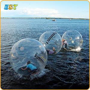 Dev Şişme Aqua Zorb Topu İnsan Hamster Topu Şişme Su Plastik Kabarcık Topu J1210