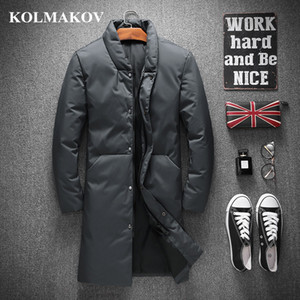 KOLMAKOV Clothes 2020 New Arrival Duck Coats for Men Winter Thicken Mens Parkas M-4XL Casual Down Jackets Masculino Y1120