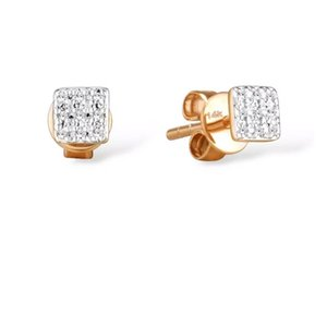 2020 New Design Jewelry Emerald Earring Moissanite Earings 18k Gold Gewelry Wholesale Women Earring 29