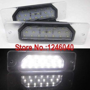 Emergency Lights 18LED License Plate Light Number Lamp For Infiniti FX35 45 03-08 Q45 96-01 I30 I35 99-04 M37 M56 2010~ High Brightness1