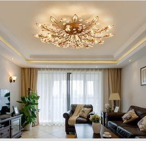 Avize Crystal Chandelier Indoor Lighting Ceiling Chandeliers Lusters Cristal For Living Room Bedroom Kitchen Fixture Lights