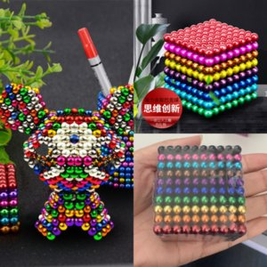 V1WBS Stress Cadeaux Puzzle Puzzle Magnetic Buckyball Buck Buck Bague Decompression Toy Relief Toys Toys Anti-stress Spinner pour adultes enfants Noël
