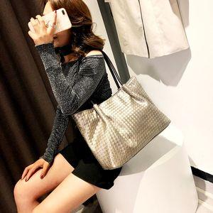 Hot sale women handbag large capacity shoulder bags high quality PU leather shoulder bags ladies wild bags sac a main femme