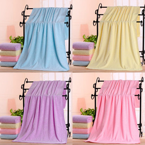 Superfine Fiber Baby Colorful Towel Children Pure Color Embossing Bears Water Uptake Quick Drying Bath Towel 3 3yt3 J2