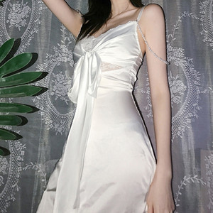XUDC Casual Dresses Multi Contrast Color Kleid Farben Slash Designer Sleeveless Kleid Damen Kleidung Damen Nackenmode