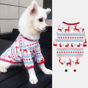 New Year Dog Clothes Cheap Cotton Coat Puppy Chihuahua Sweater Pomeranian Costumes Soft Christmas Clothing For Cat Pet Products