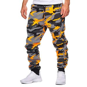 Cotton Mens Jogger Autumn Pencil Harem Pants 2020 Men Camouflage Pants Loose Comfortable Cargo Trousers Camo Jogger