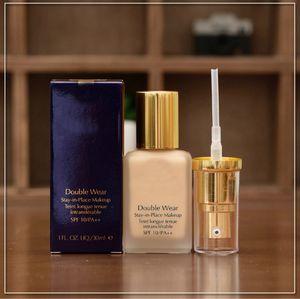 Brand New Makeup Double Wear Foundation 30ML 3 ألوان لاختيار نوعية جيدة مع أفضل الأسعار السائلة
