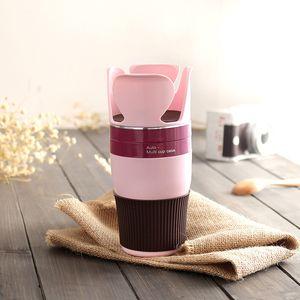 Capela de café do curso Suporte destacável do copo para o armazenamento giratório multi-funcional do automóvel e de estantes Cups Titular de bebidas V1