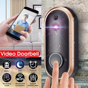 1080P Smart Doorbell Camera Wifi Wireless Call Intercom Video-Eye for Apartments Door Bell Ring for Phone Home Security Cameras1