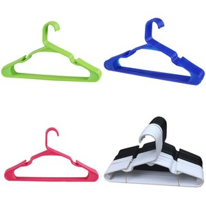Black White Plastic Coat Hanger Dry Wet Dual Purpose PP Round Tube Clothes Drying Support Multicolor 0 66lx J2