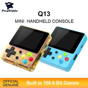 Powkiddy Q13 LDK 88FC Handheld Built-in 188 Jogos de 8 bits 2.4 polegadas IPS Screen Gift Support TV