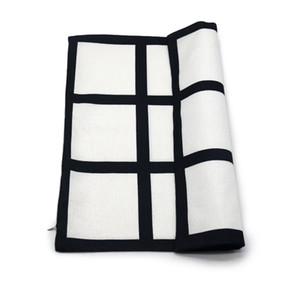Heat Transfer Sublimation Blanks Pillowcase Square 9 Block DIY Printing Photo Pillow Cushion Cover Wedding Decor Pillows New 10 5ky L2