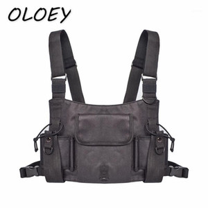 Men Tactical Chest Rig Bags Hip Hop Soulder Bags Kanye Unisex Alyx Streetwear Functional Packs Style Waistcoats With Pocket!1