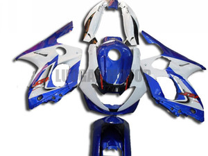 Custom motorcycle fairing for blue white YAMAHA YZF600R 1997 1998 1999 2000 2001 2002 2003 2004 2005 2006 2007 YZF 600R bodywork