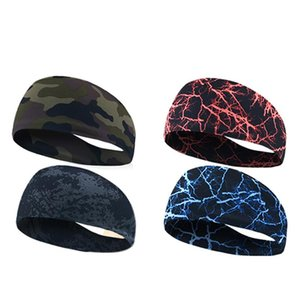 New Sale Gym Sports Absorbent Sport Sweat Headband Elastic Sweatband For Men And Women Yoga Hair Bands Head Sweat Bands