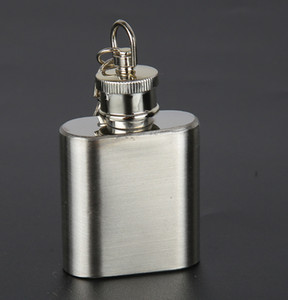 Portable Mini Flacon Hip Botther Bottle Botto Hip Flacons Voyage Whiskey Alcool Alcool Bouteille Flagon Mâle Petite Mini Bouteille LLS578