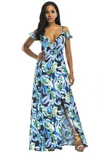Plataforma-Hot New Impress Fashion Halter Halter Big Swing Vestido