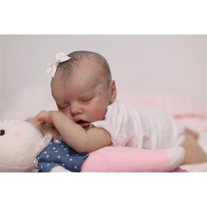 NPK 18inch reborn kit TWIN A very soft lifelike real touch fresh color unpainted unfinished doll parts DIY Q1124