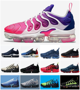 2021 Air Vapores Plus Tn Rainbow Shoes mens Bumblebee Be True Grape Triple Black Designer Shoes Womens Sherbet Team Red Black White Sneakers