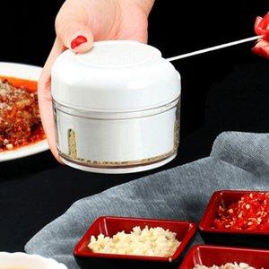Ücretsiz nakliye Fonksiyonlu Gıda Chopper Sarımsak Kesici Sebze Kesme Makinesi Speedy Chopper Araçları Manuel Mini Et Kıyma Makinesi Mutfak Aracı
