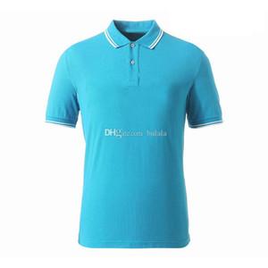 Baumwolle gedruckt Klassischer Mann Polo Hemden Männer Brief Slim Fit Polos T Shirts Für Mann Kurzarm Atmungsaktive Spring Homme Männer Camisa Tshirts