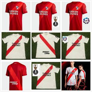 2020 리버 플레이트 70th 기념일 홈 4RD 멀리 레드 망 산체스 Rodrigo Mora Camisa Uniforme de Futebol 축구 셔츠 축구 유니폼 2020