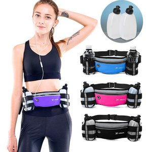 Mens Women Outdoor Running Bag Waist Belt Pack Sports Fanny Pack Watter Bottle Pouch