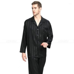2 шт. Ночное платье мужчины летний пятно шелк пижама набор пижамы мужская пижама мужской пижамой шелковый ночная рубашка дома мужская атласная мягкая уютная для сна1