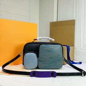 Дизайнерская роскошная сумочка для дорожной сумки большой емкости мужская фитнес сумка мода мозаика размером 50 роскошный дизайнер багажник 45457