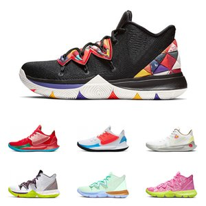 2019 New Men basketball shoes Black White Multi Color Metallic Gold CNY Hero Have A Day Mamba Mentality Athletic sports sneakers size 7-12