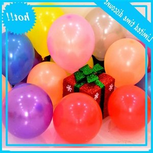 100pcs The Yellow Water Balloons 1.2g Partie Fournir des bombes Adulte Latex Ballon multicolore jouets enfants