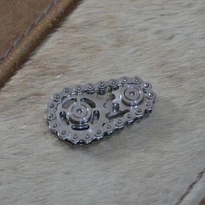 Sprockets Chains Edc Metal Toy Gear Chain Gyroscope 9I5E