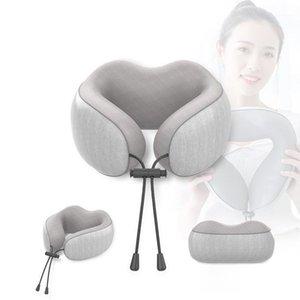 Memory Foam neck Pillow U-Shape Travel Pillows Neck Support Travel Accessories Comfortable Pillows for Sleep nap1