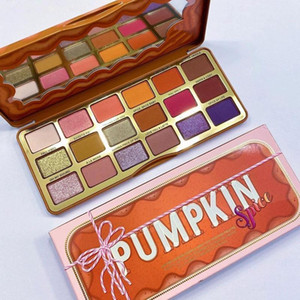 Newest Christmas Pumpkin Eyeshadow 18 Colors Classic Spice Eye Shadow Palette Makeup Matte Shimmer Eyeshadow High Quality