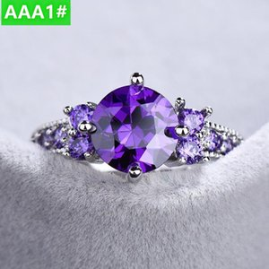 Women's ring new products inlaid with colored gemstones fashionable high-end boutique women's rings sell well NO17#