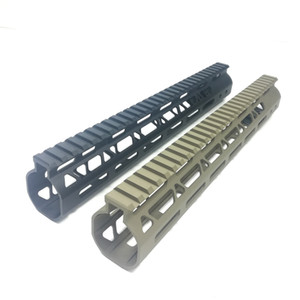 12 inch M-Lok Handguard Free Float Rail Monothilic top fits .223 5.56 Steel Barrel nut