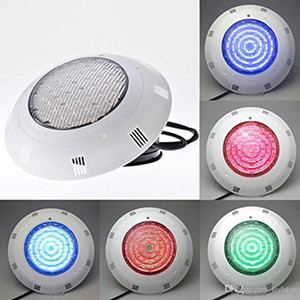 15 W LED Yüzme Havuzu Işık IP68 AC12V LED Dış Aydınlatma RGB Sıcak Kırmızı Mavi Yeşil LED Sualtı Aydınlatma Gölet Piscina