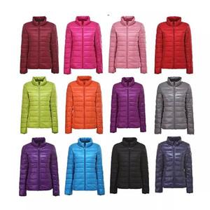 Winter Women 96% Ultra Light Down Jacket White Duck Down Hooded Jacket Long Sleeve Warm Coat Parka Female Solid Portable OutwearZ1127