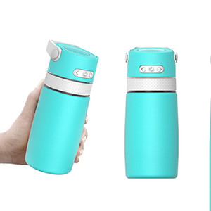 Creative Bluetooth Music Tumbler Waterproof Speaker Double Wall Thermos Stainless Steel Water Bottle Portable Cup Sea Shipping IIA876