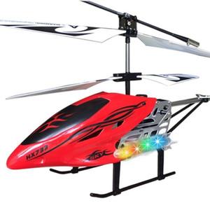 RCTOWN сплав дистанционного управления воздушным судом 3 канала RC вертолет с огнями гироскопа устойчивый к летающему расстоянию самолета