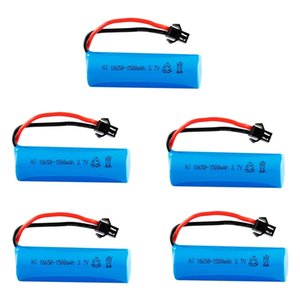 3.7V 18650 lithium battery for RC TOYS helicopter car Bauert tank gun truck train train motorcycle toy accessories 3.7V 1500mah RC battery