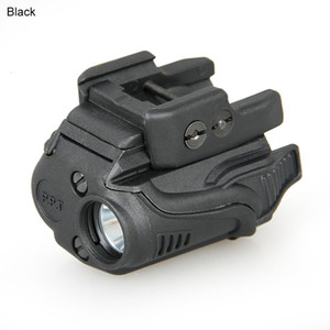 New Arrival Tactical Flashlight with 21.2mm Rail Black Tan Color For Hunting Free Shiping CL15-0035