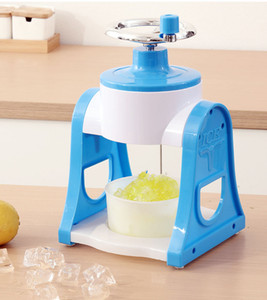 Home Kitchen Manual Hielo Crusher Hand Ice Shaver Machine Shaved Ice Snow Conos Snow Flakes Maker Crusher